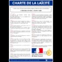 Panneau d'affichage de la Charte de la laïcité
