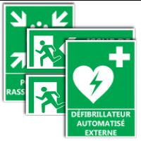 image Panneaux évacuation et secours