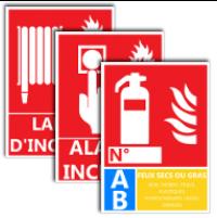 image Panneaux incendie et extincteurs