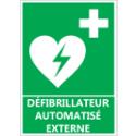 """Signalétique """"Défibrillateur automatisé externe"""" (DAE)"""