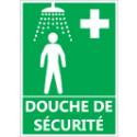 """Signalétique """"Douche de sécurité"""""""