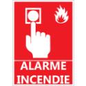 """Signalétique """"Alarme pour incendie"""""""