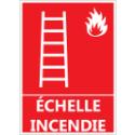 """Signalétique """"Échelle pour incendie"""""""