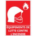 """Signalétique """"Équipements de lutte contre l'incendie"""""""