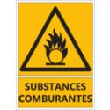 """Signalétique """"Danger substances comburantes"""""""