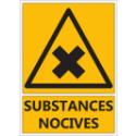 """Signalétique """"Danger substances nocives"""""""