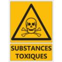 """Signalétique """"Danger substances toxiques"""""""