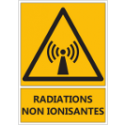 "Signalétique ""Danger radiations non ionisantes"""