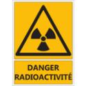 """Signalétique """"Danger radioactivité"""""""