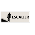 "Signalétique ""Emplacement des escaliers"" - Format rectangle"