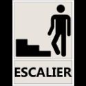 """Signalétique """"Emplacement des escaliers"""""""