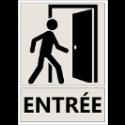 """Signalétique d'Information """"Entrée"""""""