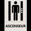 """Signalétique """"Emplacement des ascenseurs"""""""