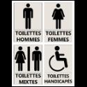 """Signalétique d'Information """"Toilettes"""""""