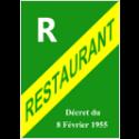 Panneau d'affichage Licence Restaurant
