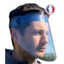 Visière de protection faciale transparente - EN STOCK