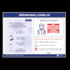 Illustration de Affichage Prévention | COVID-19